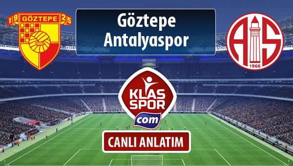 İşte Göztepe - Antalyaspor maçında ilk 11'ler