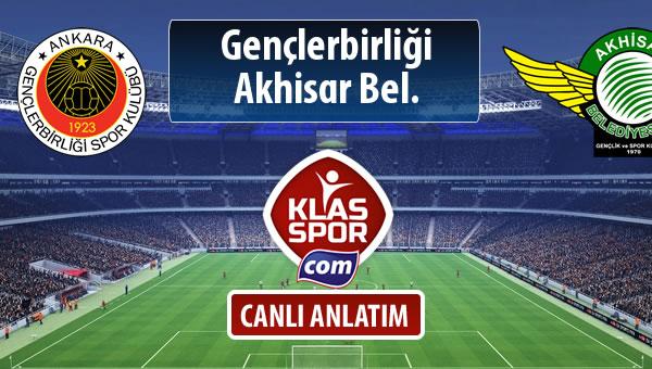 Gençlerbirliği - Akhisar Bel. maç kadroları belli oldu...
