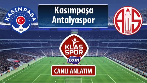 İşte Kasımpaşa - Antalyaspor maçında ilk 11'ler