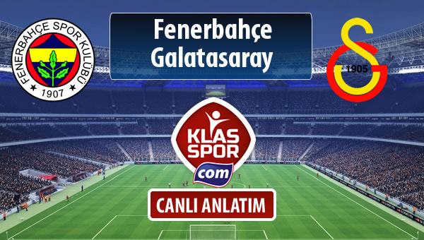 Fenerbahçe - Galatasaray maç kadroları belli oldu...