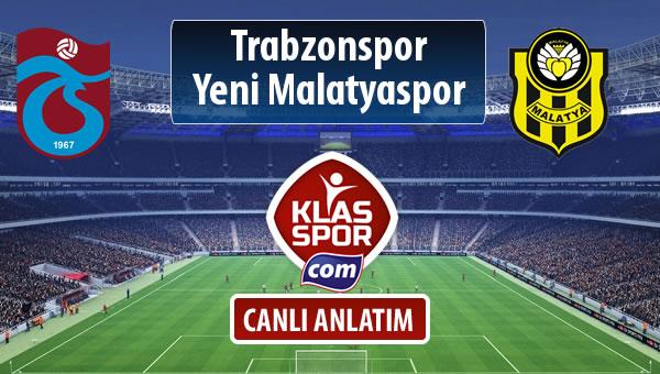 Trabzonspor - Evkur Y.Malatyaspor maç kadroları belli oldu...