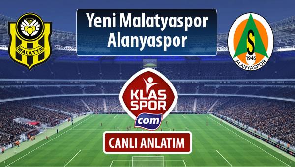 Evkur Y.Malatyaspor - Alanyaspor maç kadroları belli oldu...