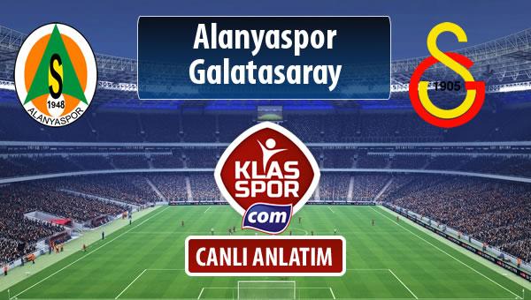 İşte Alanyaspor - Galatasaray maçında ilk 11'ler
