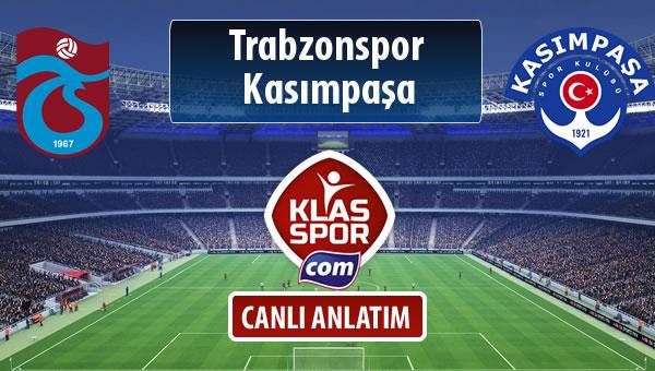 Trabzonspor - Kasımpaşa maç kadroları belli oldu...