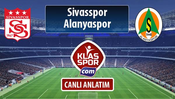 Demir Grup Sivasspor - Alanyaspor maç kadroları belli oldu...