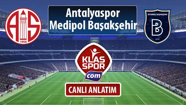 Antalyaspor - M.Başakşehir sahaya hangi kadro ile çıkıyor?