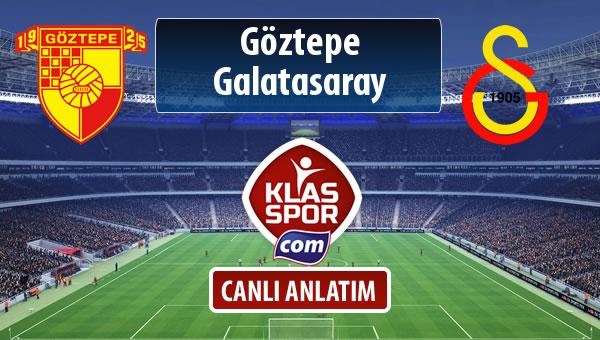İşte Göztepe - Galatasaray maçında ilk 11'ler