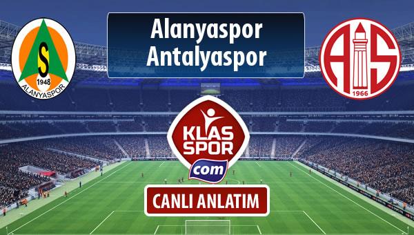 Alanyaspor - Antalyaspor maç kadroları belli oldu...