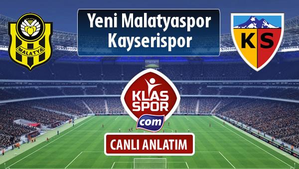 İşte Evkur Y.Malatyaspor - Kayserispor maçında ilk 11'ler
