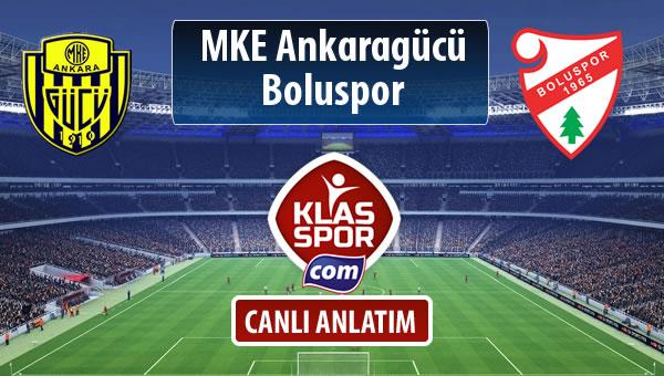 MKE Ankaragücü - Boluspor maç kadroları belli oldu...