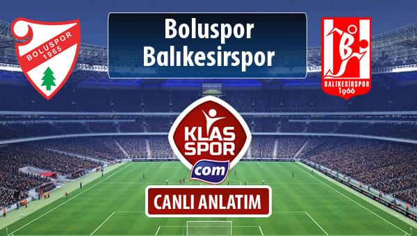 İşte Boluspor - Balıkesirspor Baltok maçında ilk 11'ler