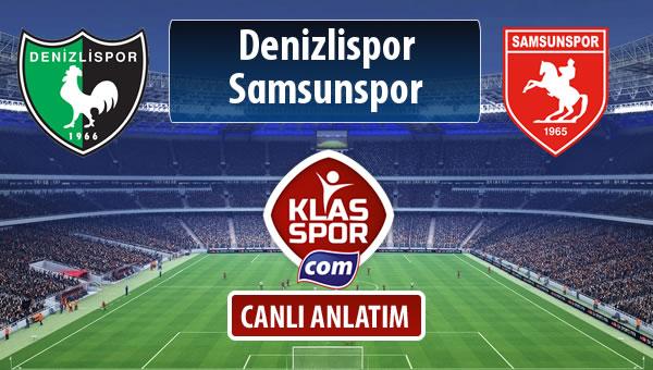 İşte Denizlispor - Samsunspor maçında ilk 11'ler