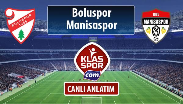 Boluspor - Manisaspor maç kadroları belli oldu...