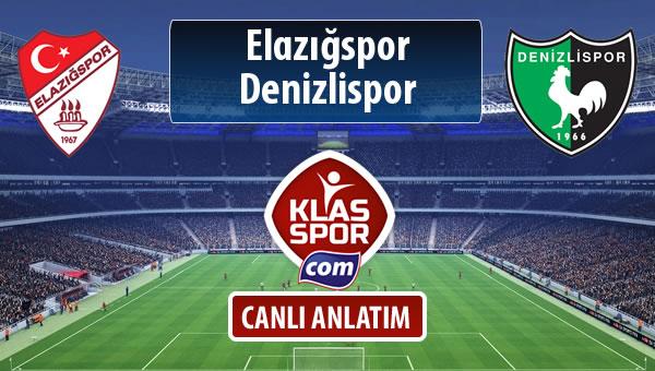 İşte Elazığspor - Denizlispor maçında ilk 11'ler