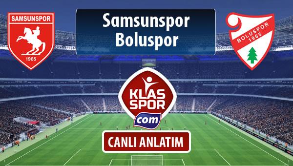 Samsunspor - Boluspor sahaya hangi kadro ile çıkıyor?