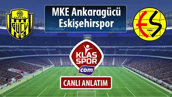 MKE Ankaragücü - Eskişehirspor maç kadroları belli oldu...