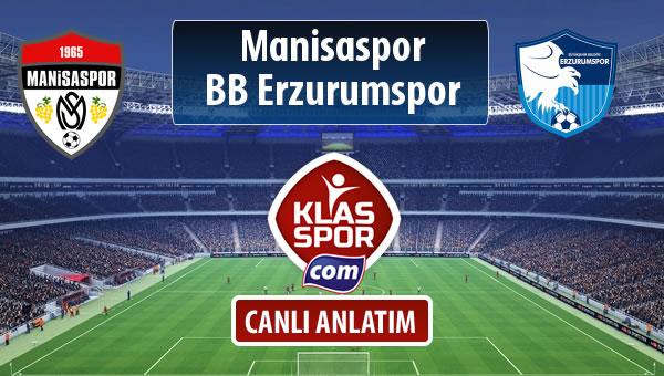 Manisaspor - BB Erzurumspor sahaya hangi kadro ile çıkıyor?