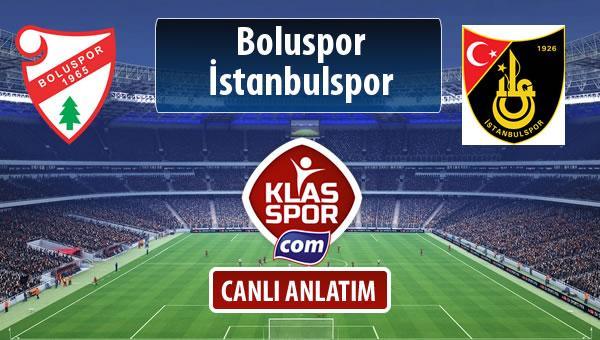 Boluspor - İstanbulspor maç kadroları belli oldu...
