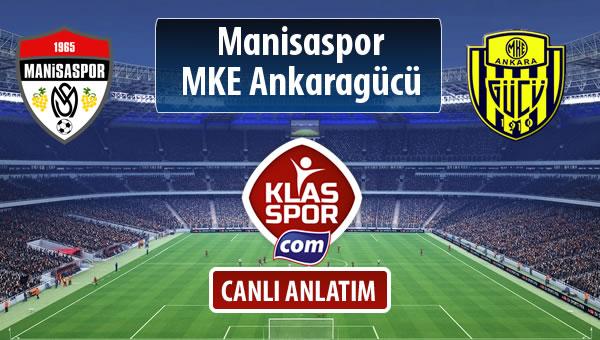 İşte Manisaspor - MKE Ankaragücü maçında ilk 11'ler