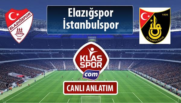 Elazığspor - İstanbulspor maç kadroları belli oldu...