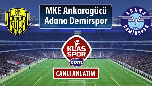 MKE Ankaragücü - Adana Demirspor maç kadroları belli oldu...
