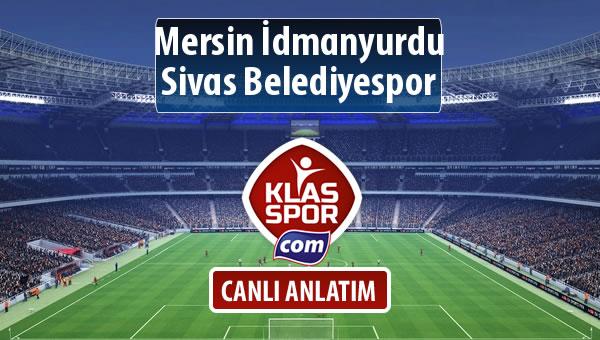 İşte Mersin İdmanyurdu - Sivas Belediyespor maçında ilk 11'ler