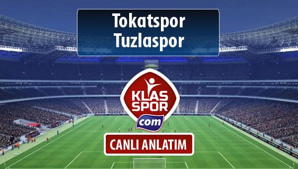 İşte Tokatspor - Tuzlaspor maçında ilk 11'ler