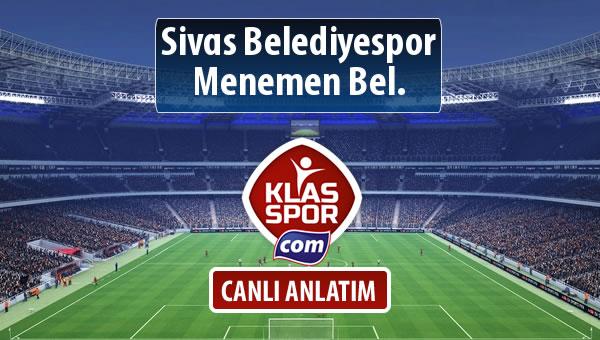 İşte Sivas Belediyespor - Menemen Bel. maçında ilk 11'ler