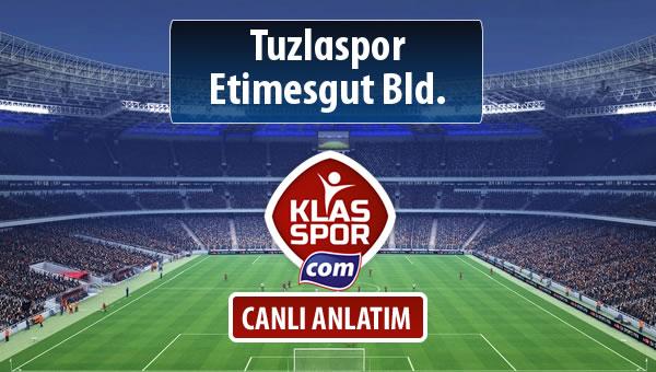 Tuzlaspor - Etimesgut Bld. maç kadroları belli oldu...