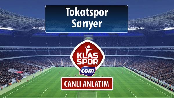 Tokatspor - Sarıyer maç kadroları belli oldu...