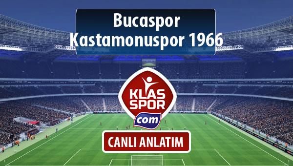 İşte Bucaspor - Kastamonuspor 1966 maçında ilk 11'ler