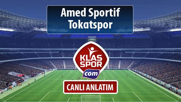 Amed Sportif - Tokatspor sahaya hangi kadro ile çıkıyor?