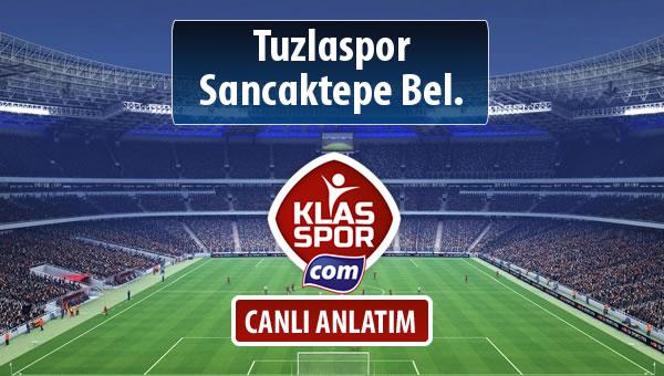 İşte Tuzlaspor - Sancaktepe Bel. maçında ilk 11'ler