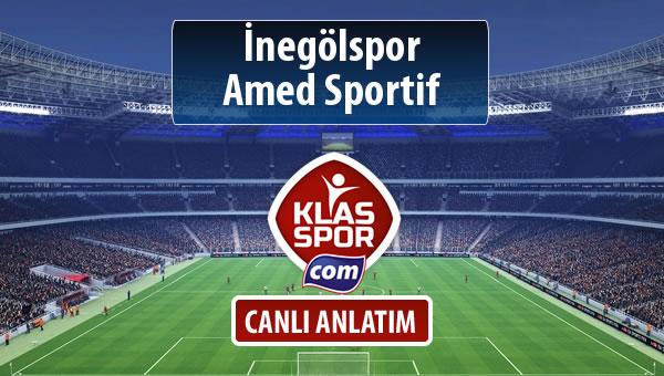 İnegölspor - Amed Sportif maç kadroları belli oldu...