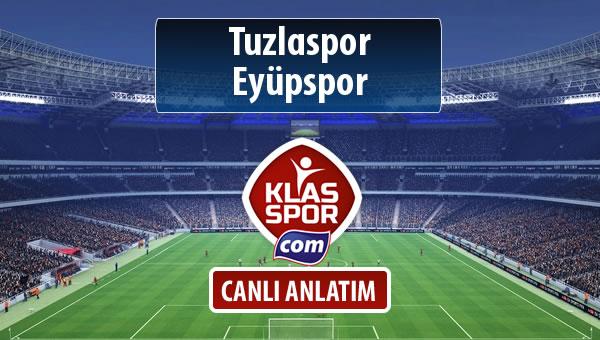 Tuzlaspor - Eyüpspor maç kadroları belli oldu...