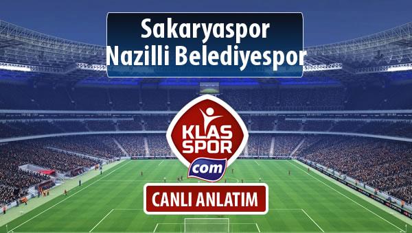 Sakaryaspor - Nazilli Belediyespor maç kadroları belli oldu...