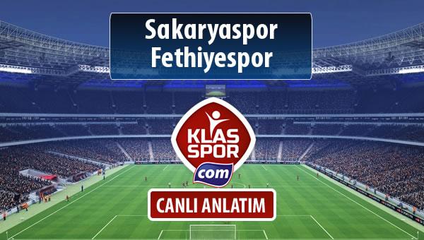 İşte Sakaryaspor - Fethiyespor maçında ilk 11'ler