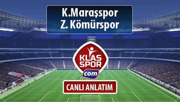 İşte K.Maraşspor - Z. Kömürspor maçında ilk 11'ler