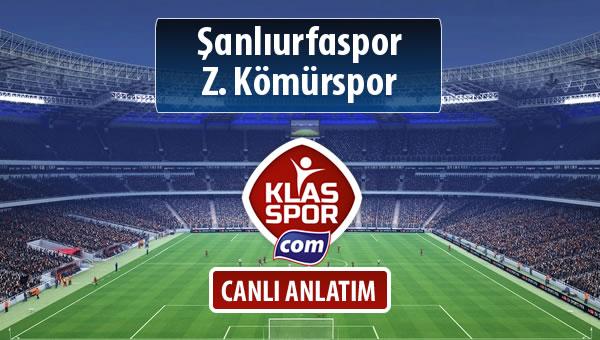 İşte Şanlıurfaspor - Z. Kömürspor maçında ilk 11'ler