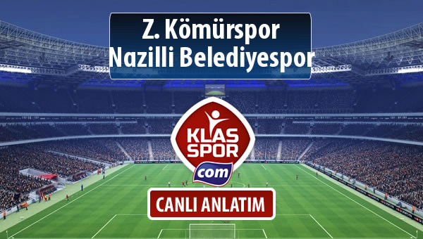 İşte Z. Kömürspor - Nazilli Belediyespor maçında ilk 11'ler