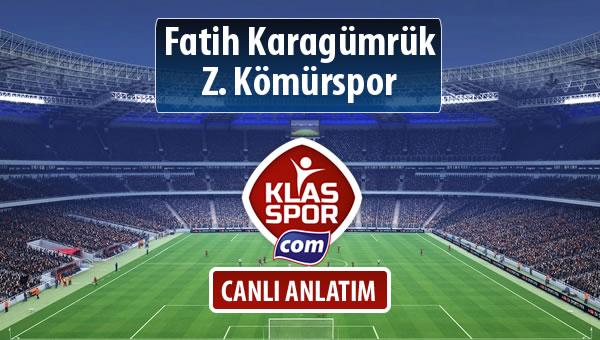 İşte Fatih Karagümrük - Z. Kömürspor maçında ilk 11'ler