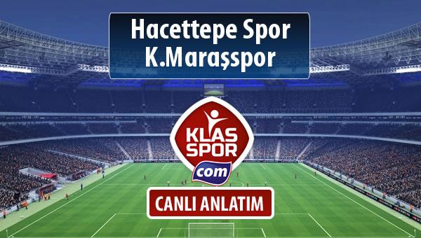 İşte Hacettepe Spor - K.Maraşspor maçında ilk 11'ler