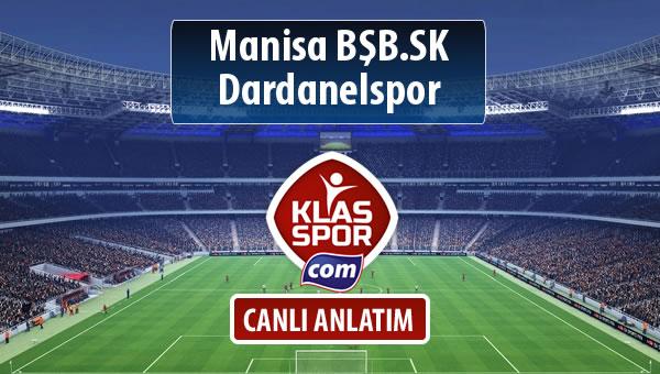 Manisa BŞB.SK - Dardanelspor maç kadroları belli oldu...