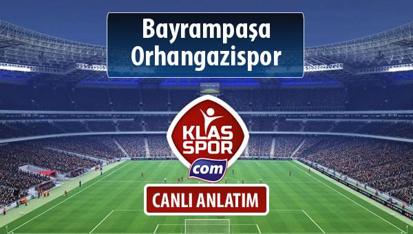 Bayrampaşa - Orhangazispor sahaya hangi kadro ile çıkıyor?