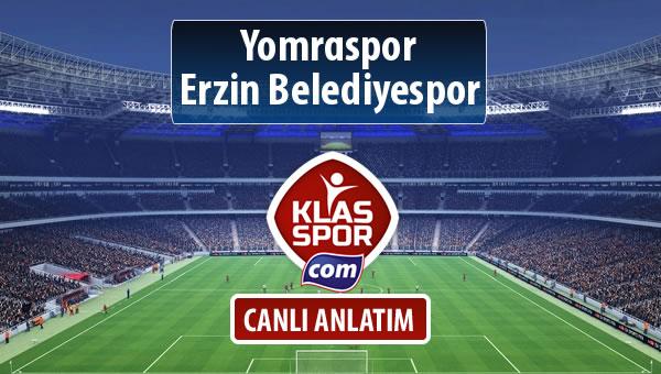 Yomraspor - Erzin Belediyespor maç kadroları belli oldu...
