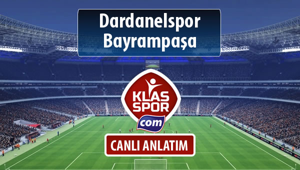 Dardanelspor - Bayrampaşa maç kadroları belli oldu...