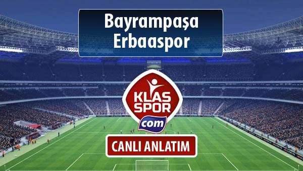 Bayrampaşa - Erbaaspor sahaya hangi kadro ile çıkıyor?