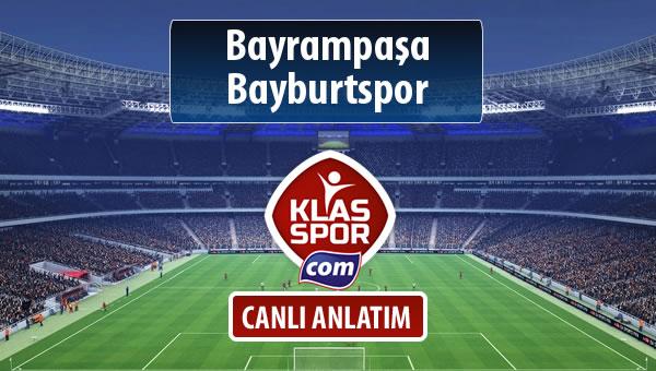 Bayrampaşa - Bayburtspor sahaya hangi kadro ile çıkıyor?