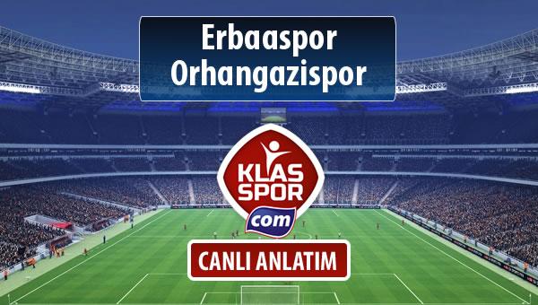 İşte Erbaaspor - Orhangazispor maçında ilk 11'ler