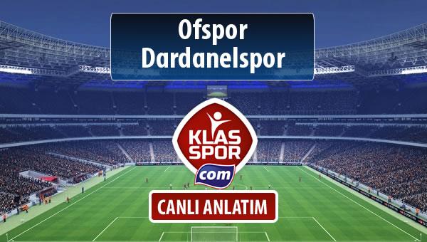 İşte Ofspor - Dardanelspor maçında ilk 11'ler